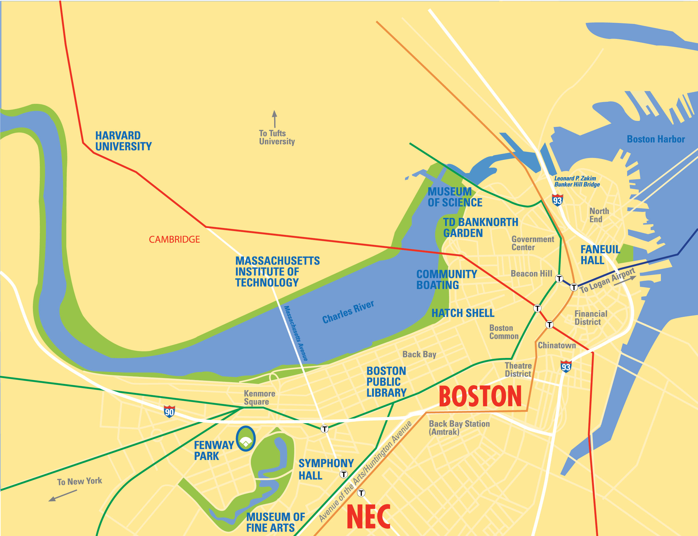 How To Get Here New England Conservatory - Where is jordan located