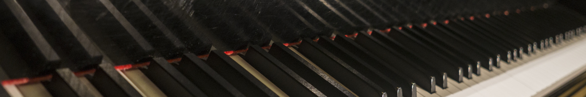 Abstract of piano keyboard