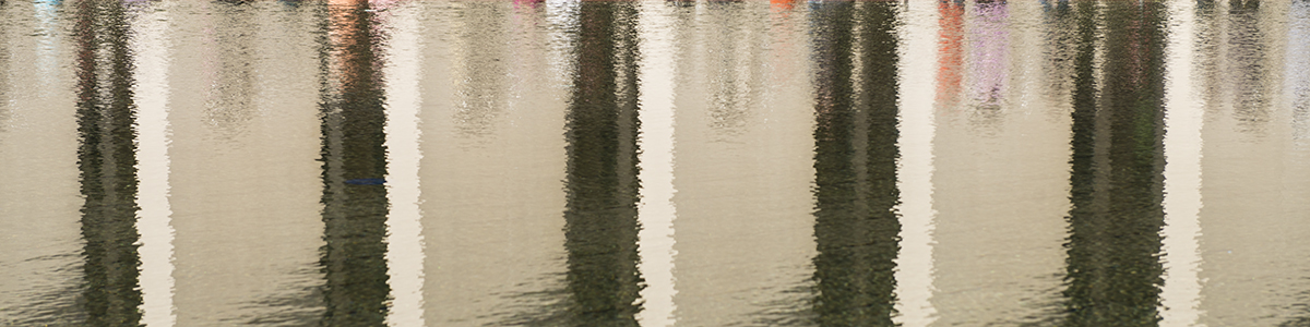 Reflecting Pool abstract