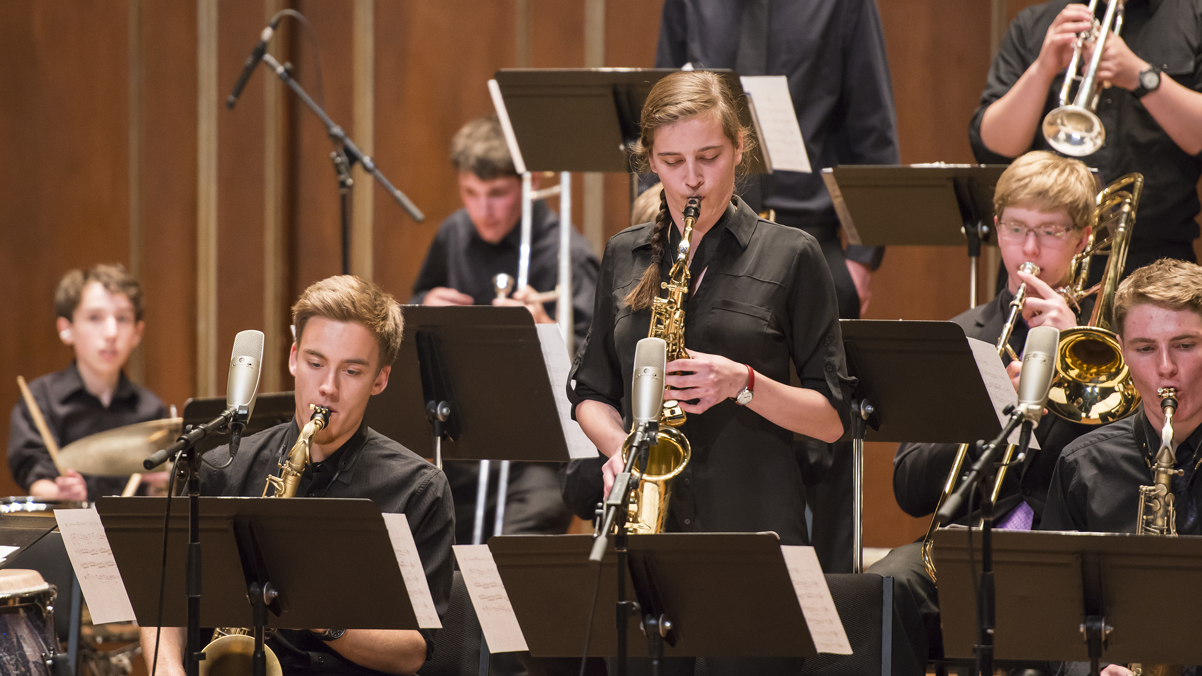Prep's Youth Jazz Orchestra performs