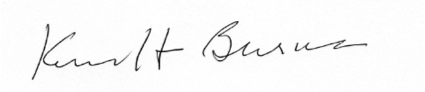 Kennett Burnes signature