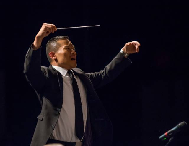Jr. MYWE Conductor Jared Cassedy