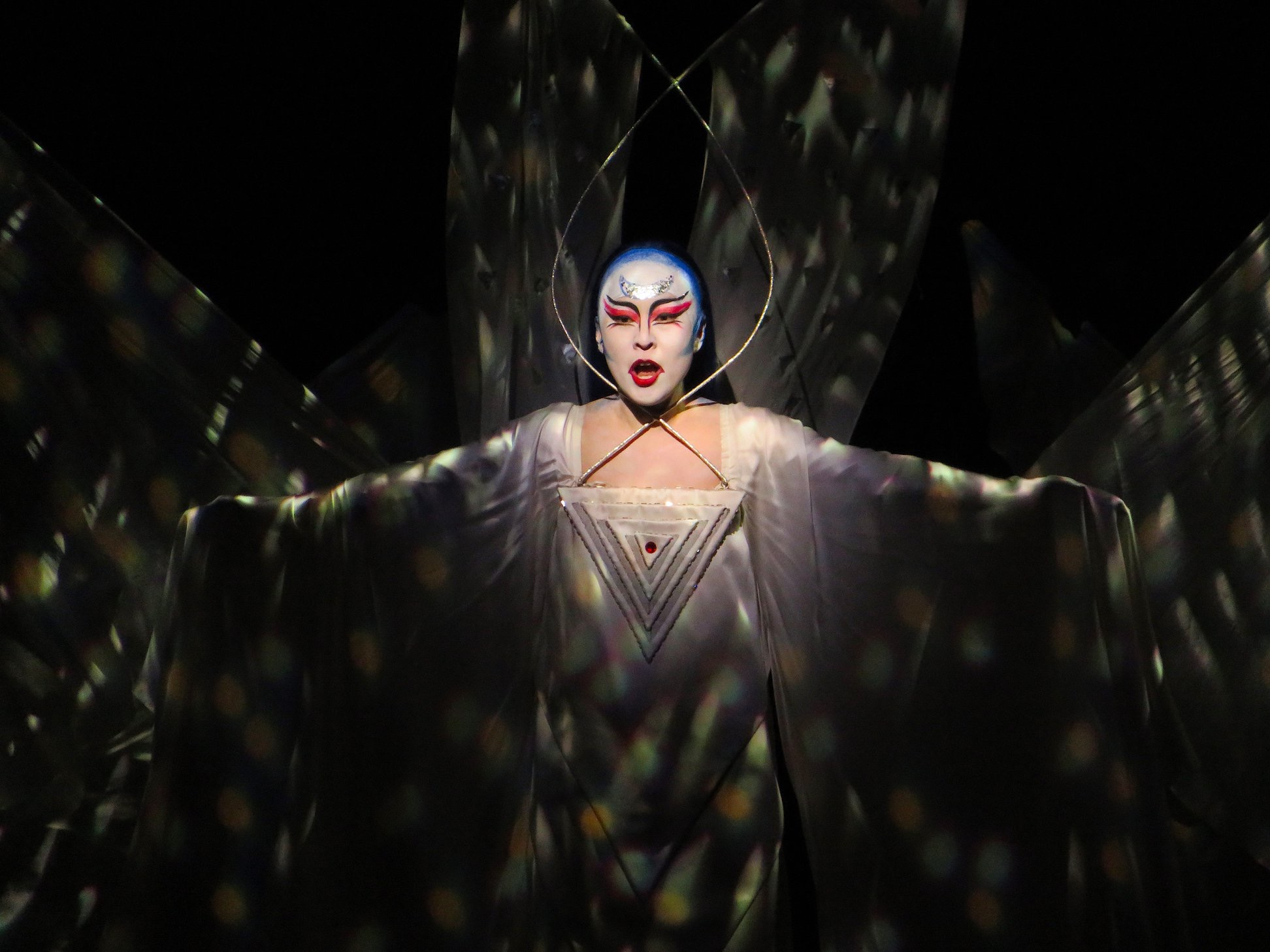 Soprano So Young Park sings the Queen of the Night in The Magic Flute at the Met