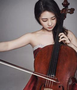 Claire Deokyong Kim plays the cello
