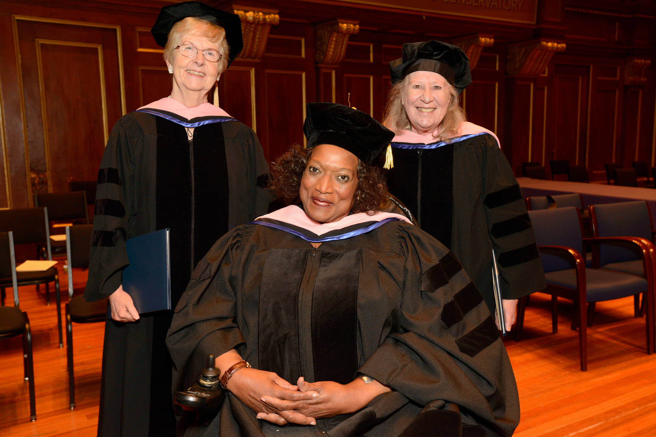 Jean Morrow, Jessye Norman, and Ursula Oppens