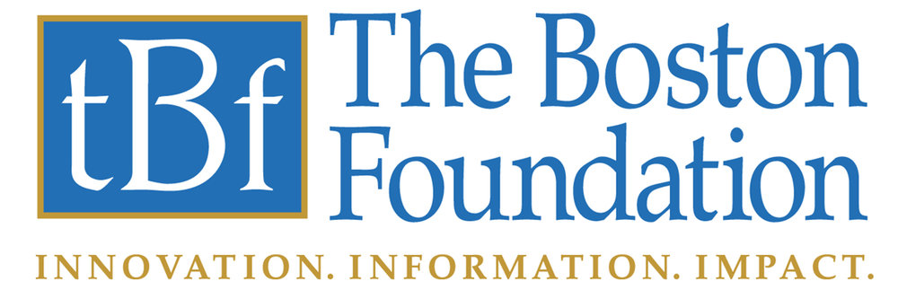 The Boston Foundation logo, with subtitle: Innovation. Information. Impact.