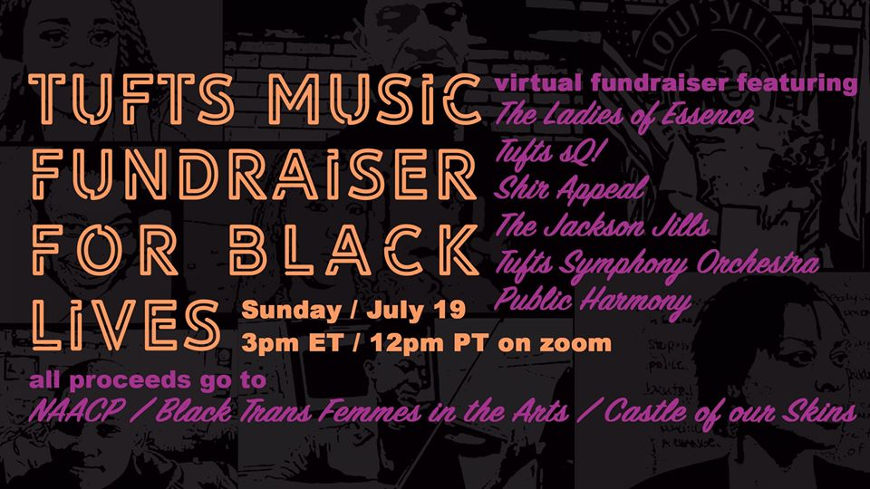 Tufts Music Fundraiser for Black Lives