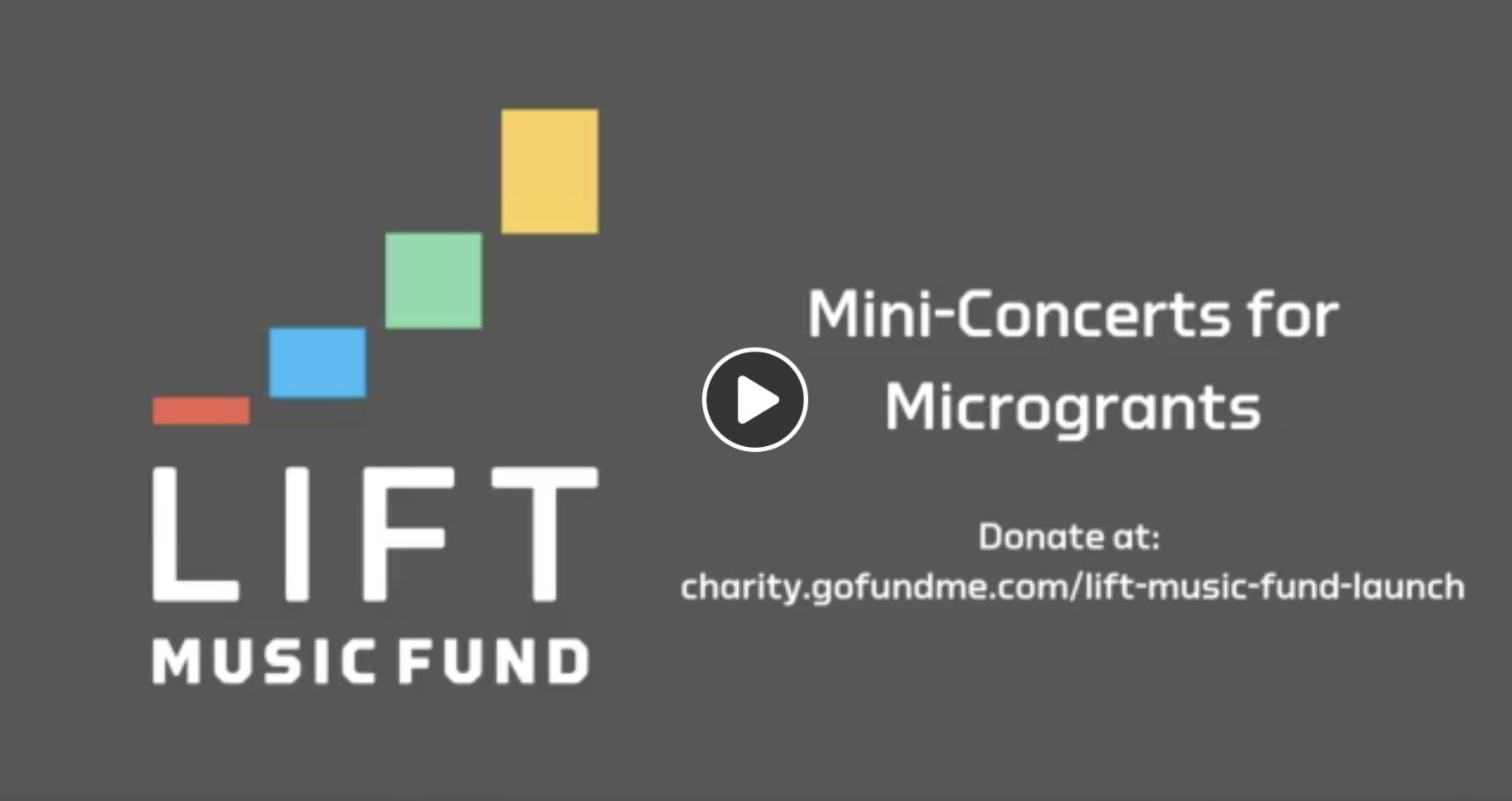 Lift Music Fund mini-concerts for microgrants