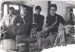 Jerry Bergonzi, Charlie, and band