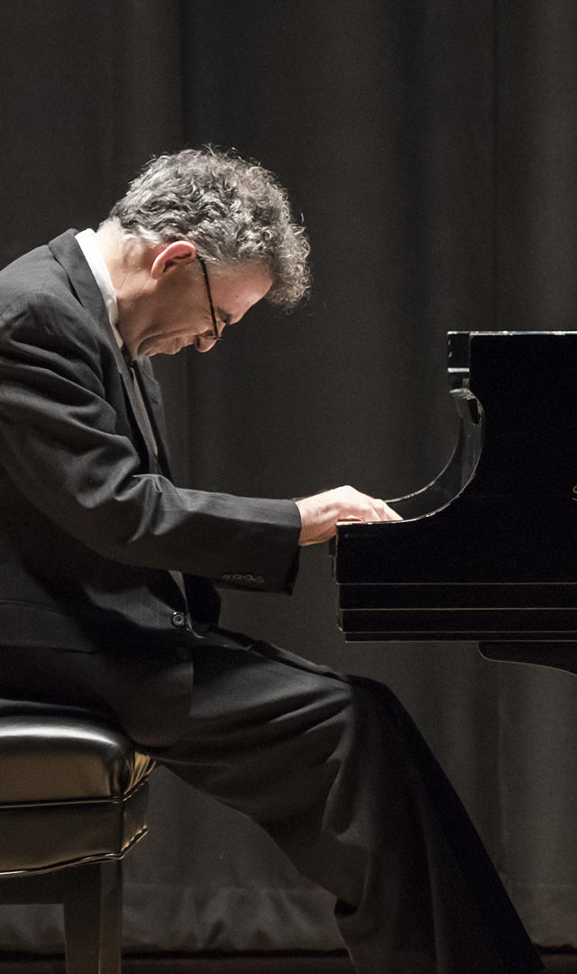 Continuing Education pianist performs