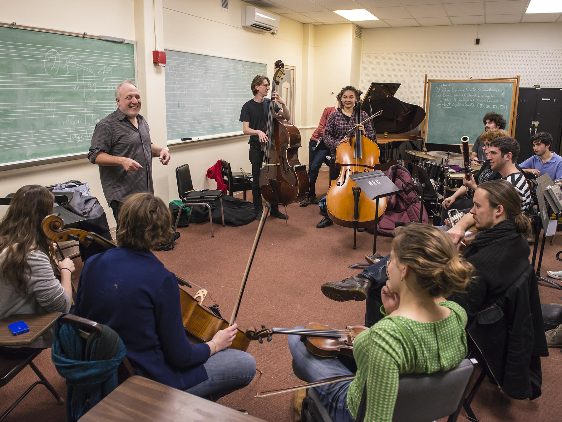 A Contemporary Improvisation class with Anthony Coleman