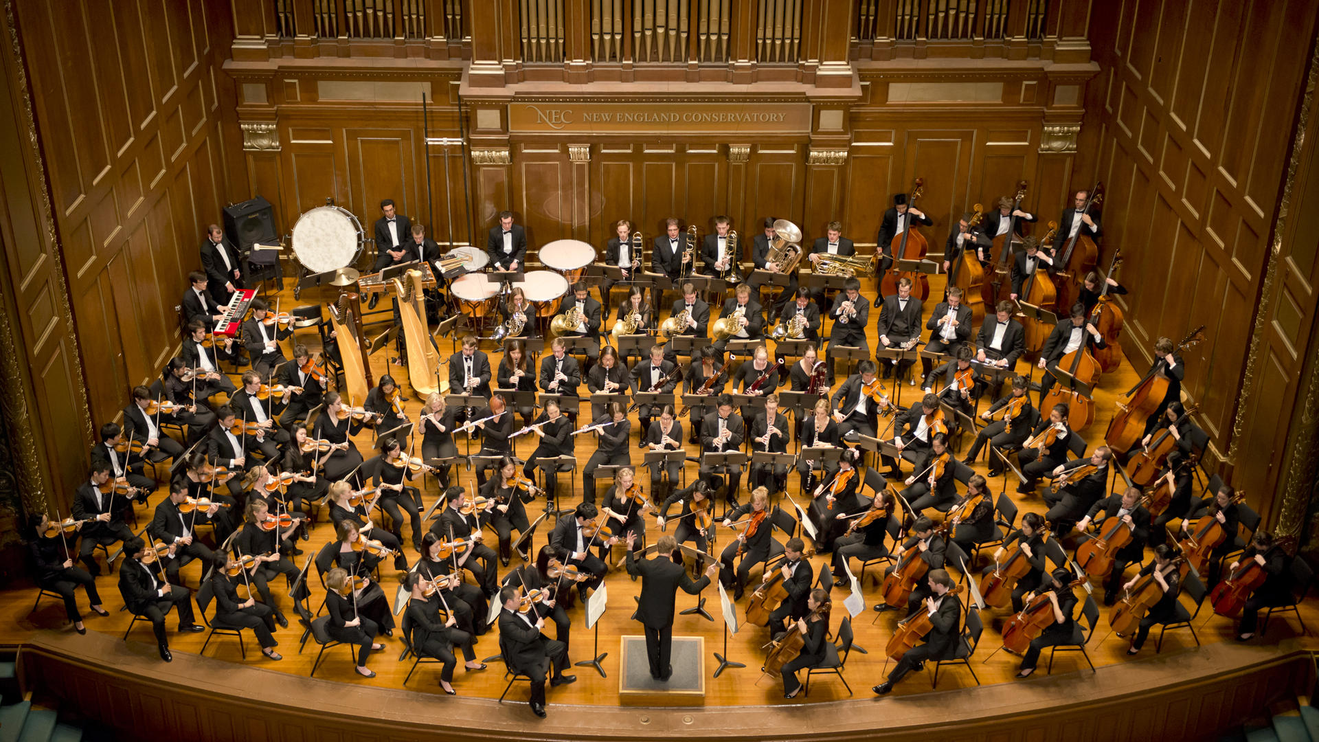 Orchestras New England Conservatory