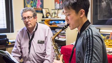 A Prep classical saxophone lesson