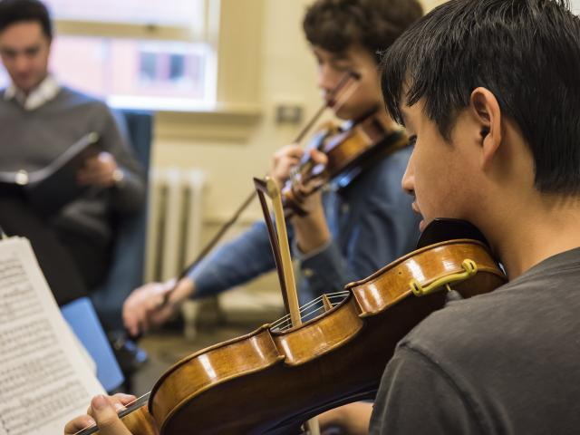 Prep Chamber music coaching