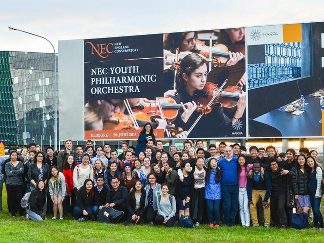 Prep Youth Philharmonic Orchestra in Iceland