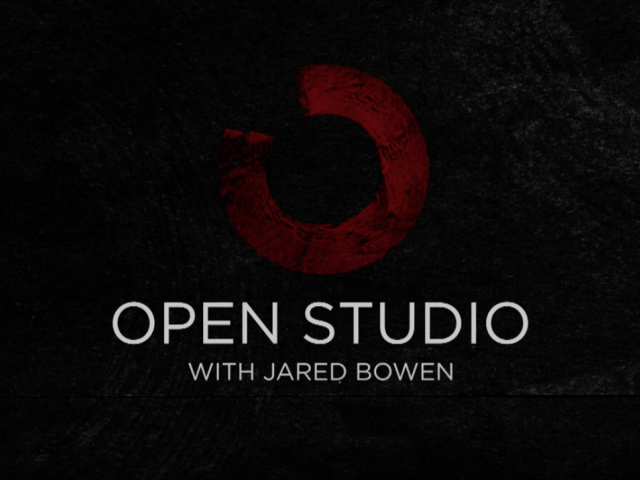 Open Studio with Jared Bowen logo
