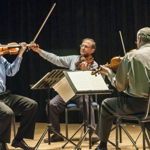 Continuing Education string quartet