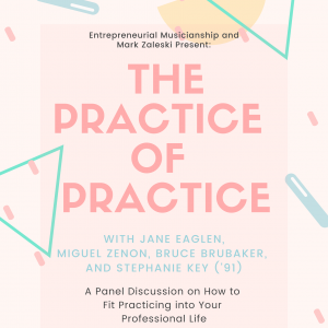 practice of practice event poster
